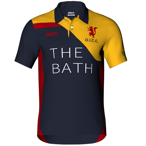 Old Ignatians Sublimated Cricket Polo Mens designed by ISC Sport