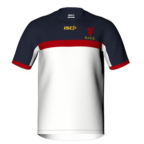 Men's cricket training t-shirt by ISC Sport
