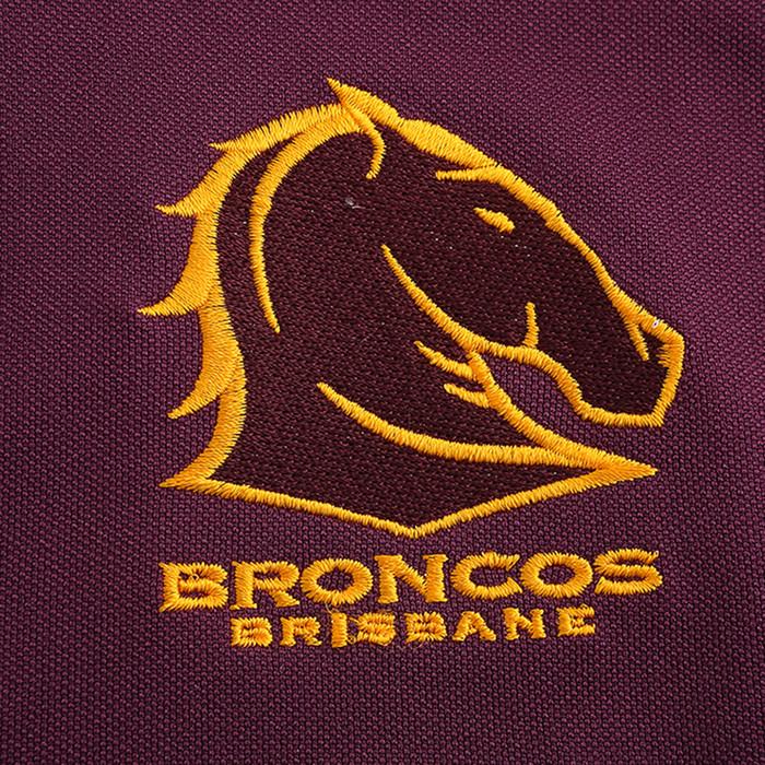 Brisbane Broncos 2020 WOMENS MEDIA POLO