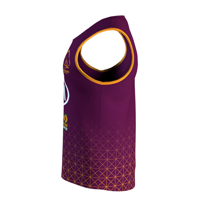 Brisbane Broncos 2020 KIDS TRAINING SINGLET