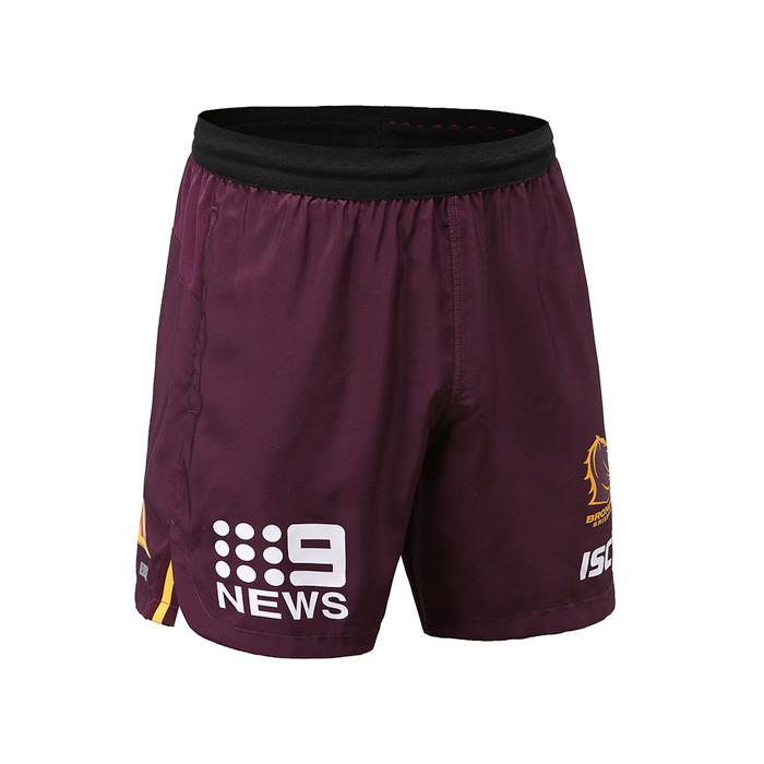 Brisbane Broncos 2020 KIDS TRAINING SHORTS