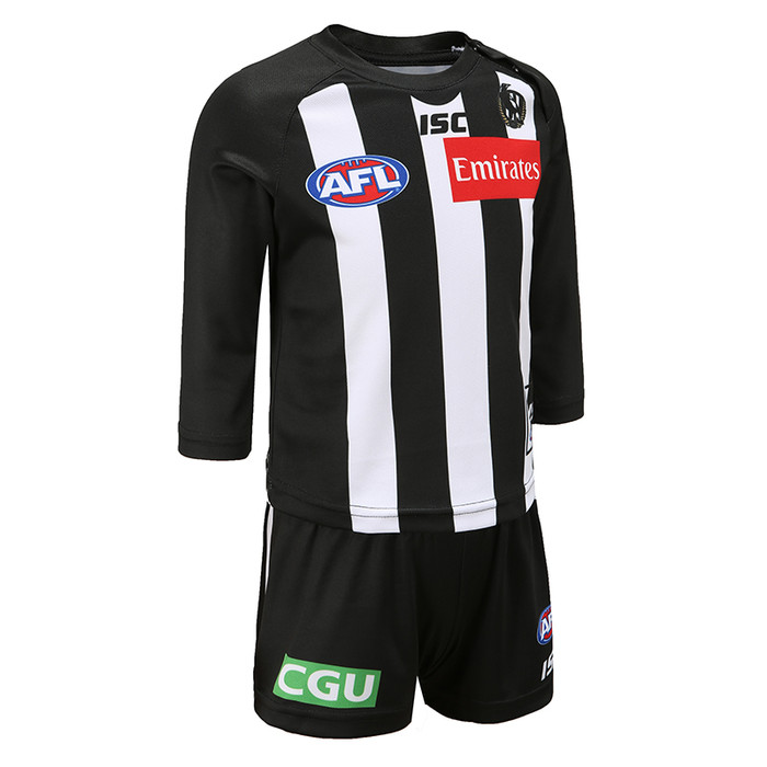 Collingwood Magpies 2020 TODDLER HOME GUERNSEY SET