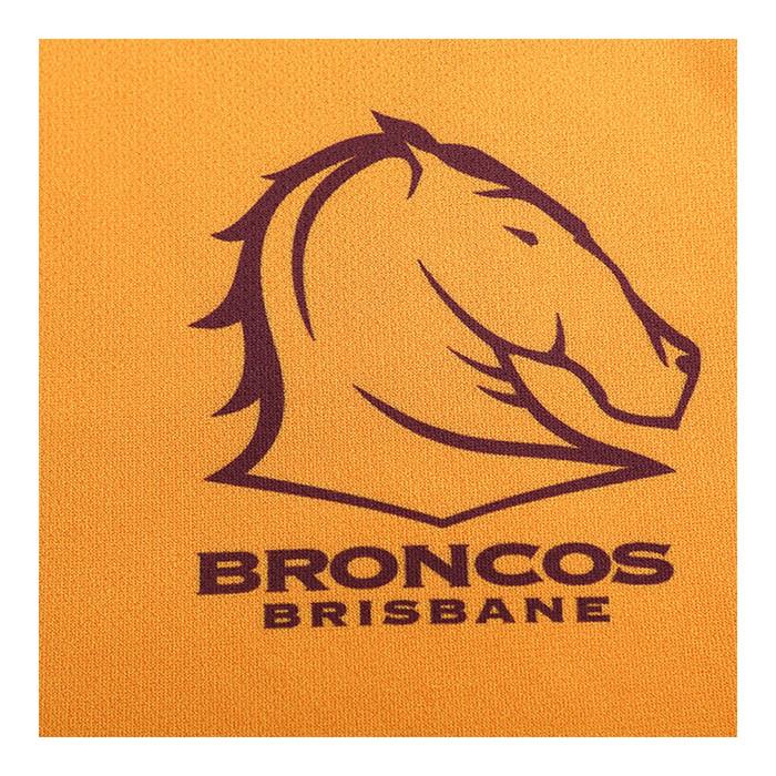 Brisbane Broncos 2020 MENS TRAINING TEE - GOLD