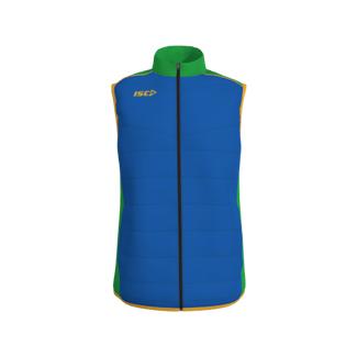 Cut & Sew Combination Padded Vest