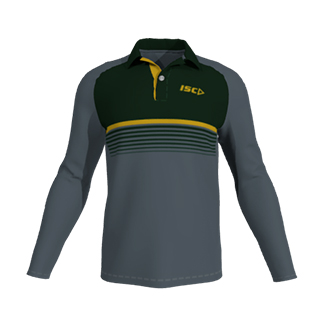 ISC Customisable Sublimated Long Sleeve Playing Polo