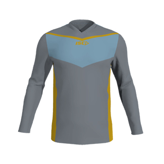 ISC Customisable Long Sleeve Performance T-shirt V Neck