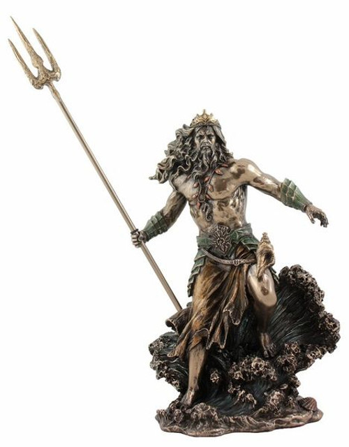 Poseidon Statue