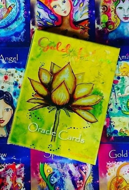 Gold Lotus Oracle Cards