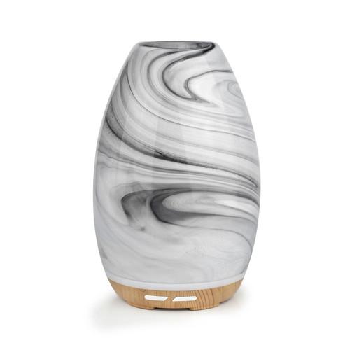 Aroma-Swirl Black Essential Oil Ultrasonic Diffuser