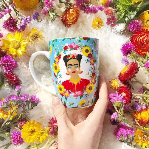 The Quirky Cup Collective Frida Kahlo Mug