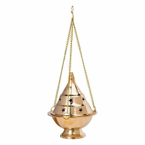 Brass Hanging Charcoal Burner 13CM