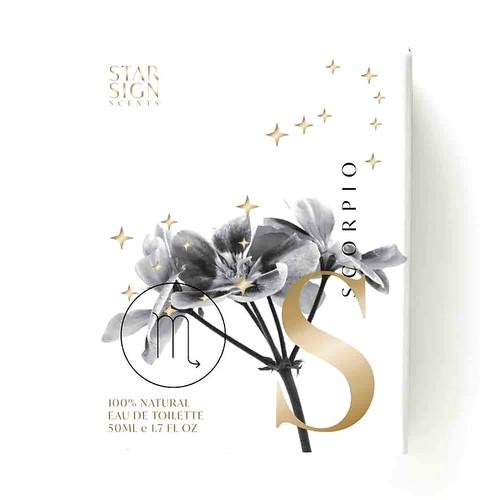Scorpio Star Sign Scent Essential Oil Perfume