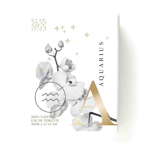 Aquarius Star Sign Scent Essential Oil Perfume