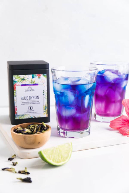 Clean Tea Blue Byron Iced Tea