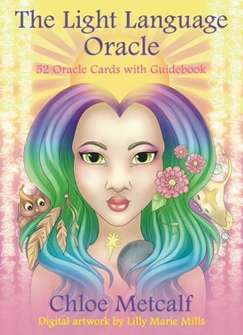 The Light Language Oracle by Chloe Metcalf