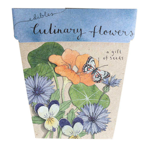 Sow 'n Sow Culinary Flowers Gift of Seeds