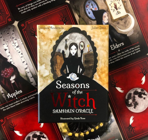 Seasons of the Witch Samhain Oracle by Juliet Diaz