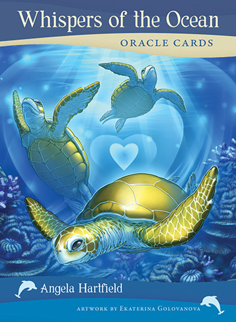 Whispers of the Ocean Oracle Cards by Angela Hartfield