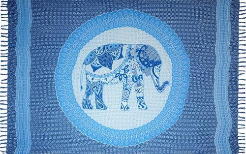 Boho Elephant Royal Sarong