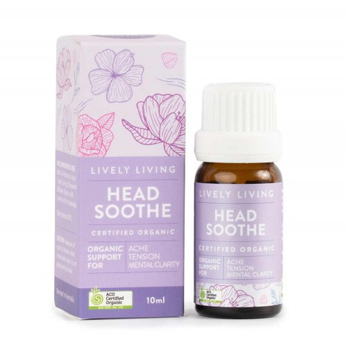 Head Soothe Organic Essential Oil Blend 10ml