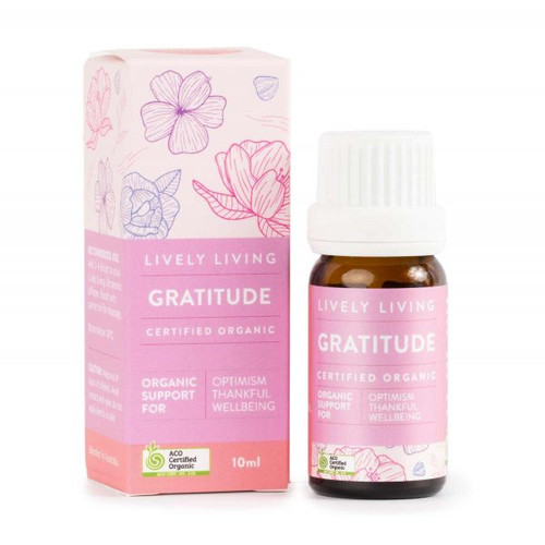 Gratitude Organic Essential Oil Blend 10ml