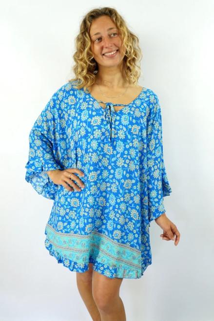 Jasmine Blue Juliet Top