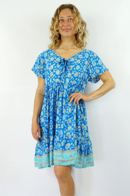 Kiki Juliet Blue Dress