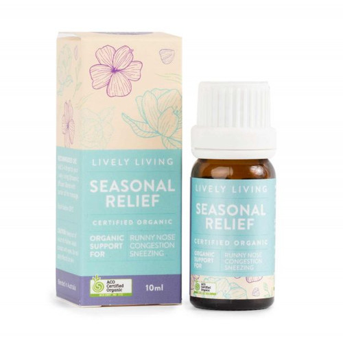 Seasonal Relief Organic Essential Oil Blend 10ml