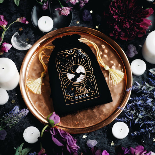 'Magic Tarot' Deck Black Pouch