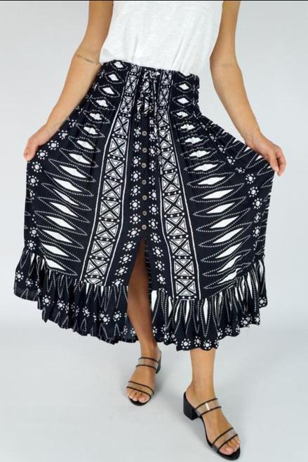 Tangelo Tiffany Skirt