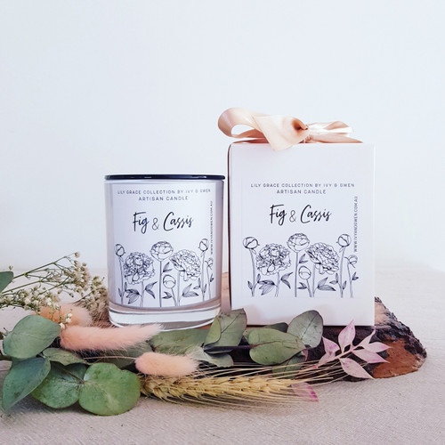 Fig and Cassis Medium Candle