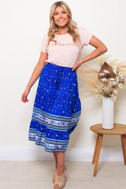 Donna Midi Skirt