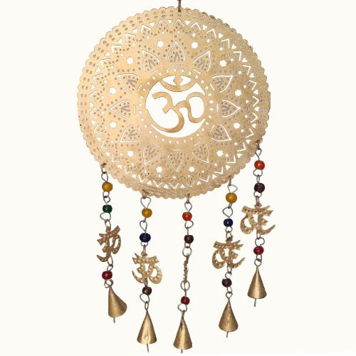 Om Lotus Bell Hanging