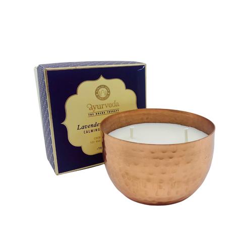 Lavender Lemongrass Candle - Calming + Refreshing