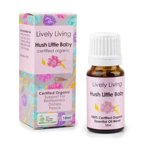 Hush Little Baby is 100% a Certified Organic Essential Oil Blend.
