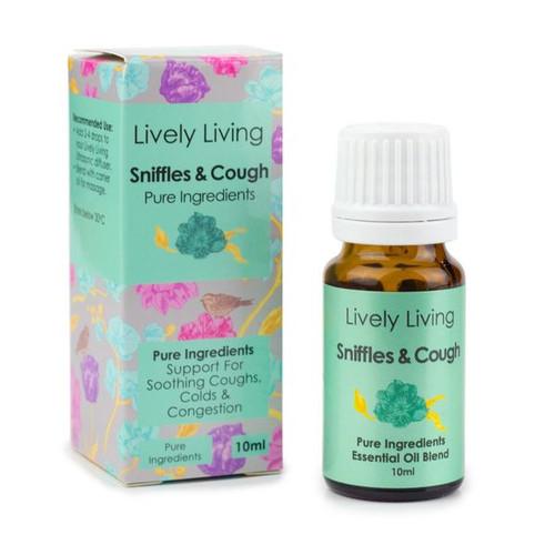 Sniffles & Cough Essential Oil Blend