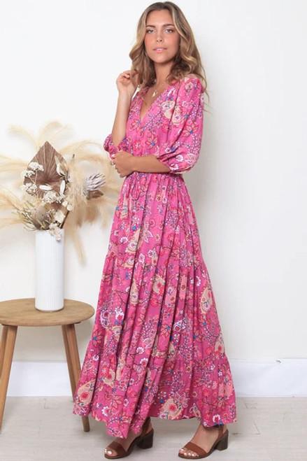 Lorelei V-Neck Maxi Dress