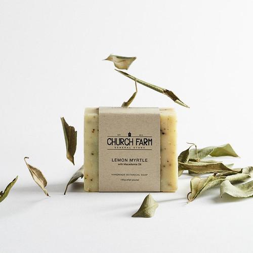 Lemon Myrtle Soap with Macadamia Oil