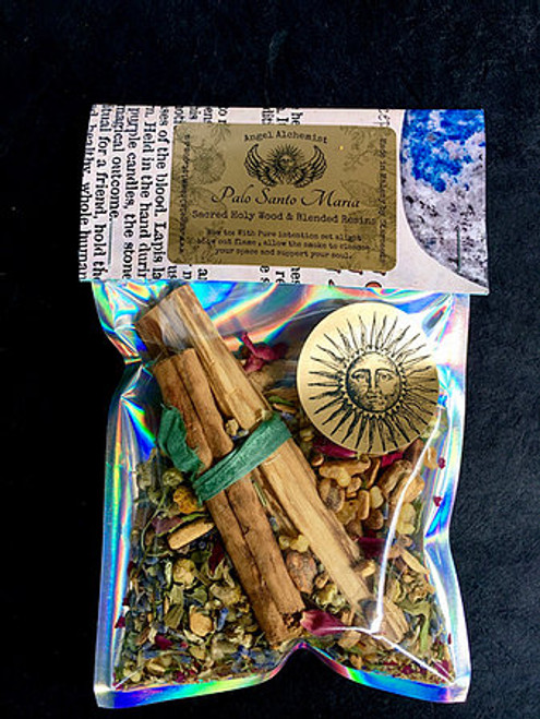 Palo Santo Maria - Sacred Holy Wood & Blended Resins