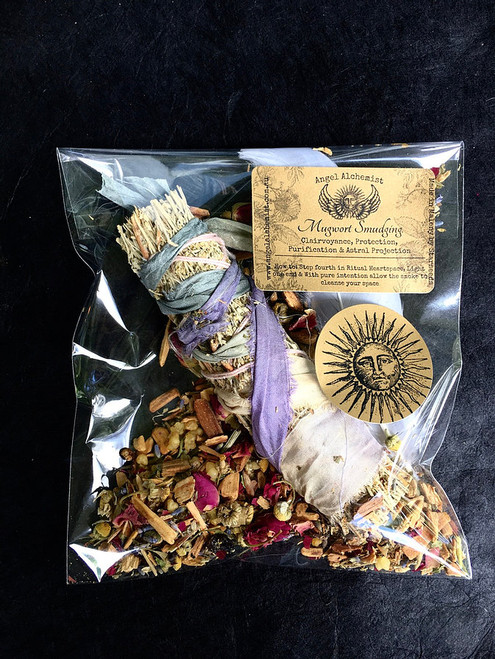 Mugwort Smudging - Clairvoyance, Protection, Purification & Astral Projection