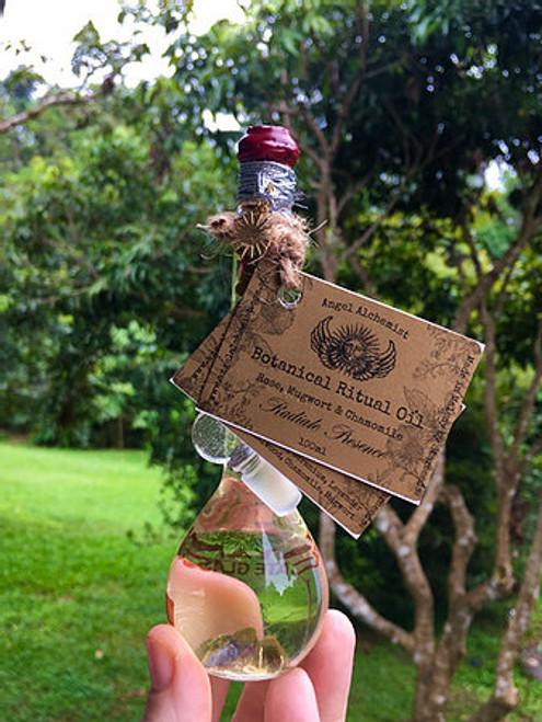 Botanical Ritual Oil - Rose, Mugwort & Chamomile - Radiate Resence