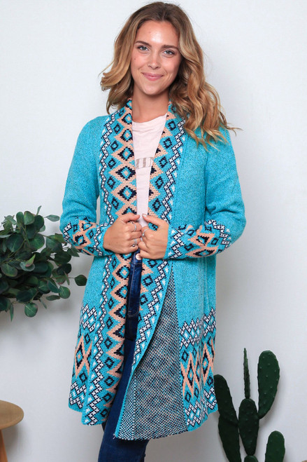 'Isla' Long Cardigan