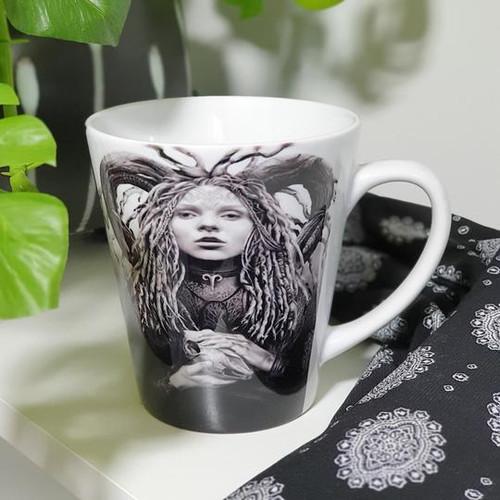 Aries Ceramic Mug - Fiona Francois Art