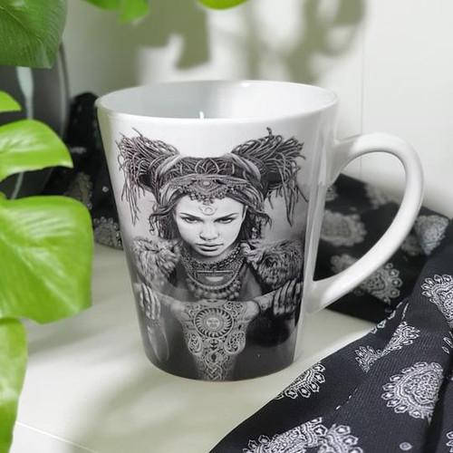 Taurus Ceramic Mug - Fiona Francois Art