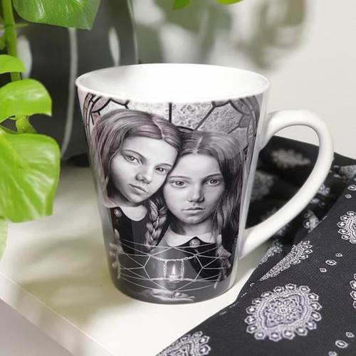Gemini Ceramic Mug - Fiona Francois Art