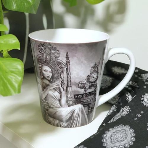 Leo Ceramic Mug - Fiona Francois Art