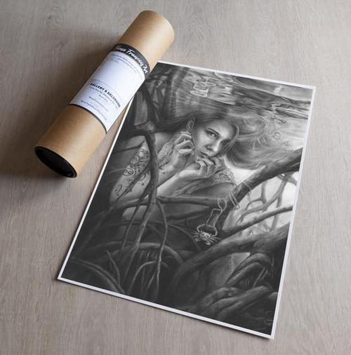 'Cancer' Art Print - Fiona Francois Art