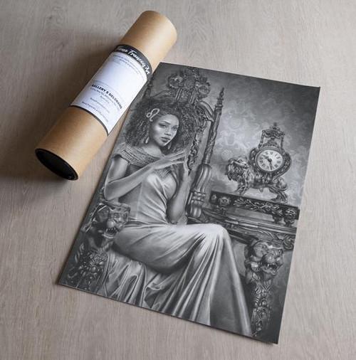 'Leo' Art Print - Fiona Francois Art