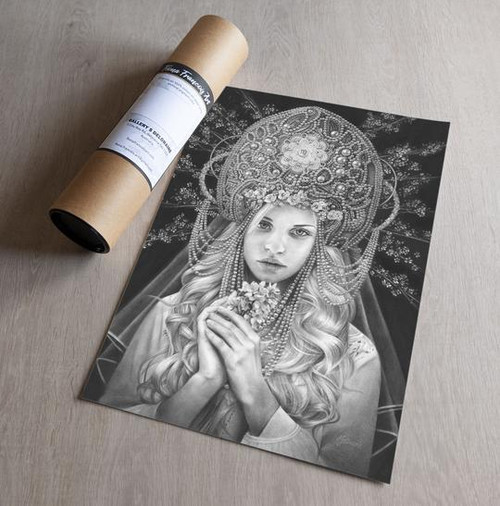 'Virgo' Art Print - Fiona Francois Art