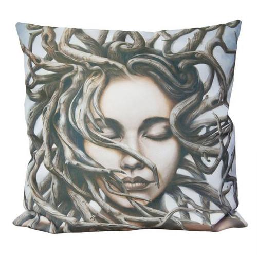 'Gaia' Cushion Cover - Fiona Francois Art